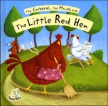 THE COCKEREL, THE MOUSE, AND THE LITTLE RED HEN (FLIP UP FAIRY TALES)