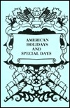 American Holidays and Special Days